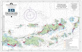 map of bvi and usvi island maps for charter motor yachts