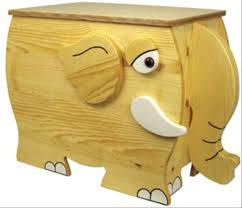 Wood Toy Chest Bench Plans by Elephant