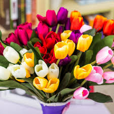Decorative Flowers For Home by Compare Prices On Bouquet Tulips Online Shopping Buy Low Price
