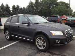 audi wexford pa used 2014 lava gray pearl effect audi q5 in wexford pa baierl