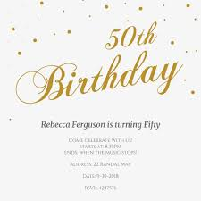 template for making birthday invitations invitation for baby shower marvellous 50th birthday invitation