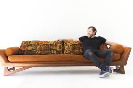 Adrian Sofa Adrian Pearsall Sofa For Craft Associates Inc 01031708