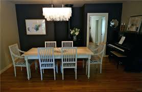 European Dining Room Furniture Splendid Modern European Dining Room With Bubble Chandelier Via