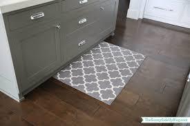 modern kitchen mats kitchen gray pattern kitchen rugs on dark hardwood floor and