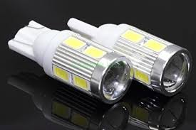 t10 led light bulb new 2 bulbs t10 projector 6 led light bulbs auto replacement