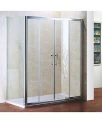 1600mm x 700mm double sliding door shower enclosure and shower