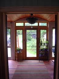 traditional three season porch entry unit manhattan door with