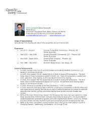 Example Sales Resumes by Resume For Sales Associate Retail