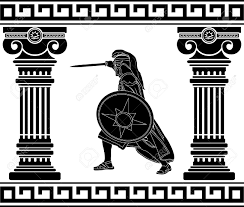 mythical clipart greek hero pencil and in color mythical clipart