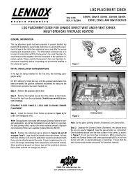 creative lennox gas fireplace manual interior design ideas