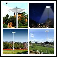 led driveway pole lights backyard pole lights medium size of patio outdoor street light post