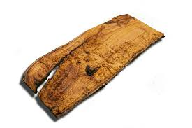 wood slab seattle and portland area topographical map from a live
