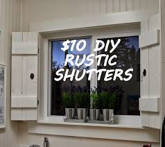 Shutters For Interior Windows Designdreams By Anne Rustic Diy Shutters For 10