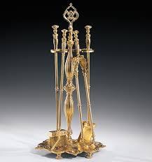 Fireplace Toolset - cast brass antiqued fireplace tools set homey pinterest