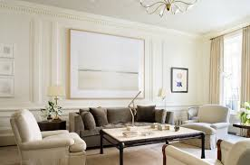 French Modern Townhouse Peter Pennoyer Architects LIVING ROOMS - French modern interior design