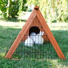 ware premium backyard small animal hutch 1533 hayneedle