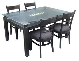 glass dining table for sale 6 seater dining table design with glass top kitchen table set price