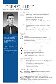 First Year University Student Resume Sample by High Resume Samples Visualcv Resume Samples Database