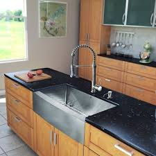 kitchen sink and faucet sets vigo all in one 33 bedford stainless steel farmhouse kitchen sink