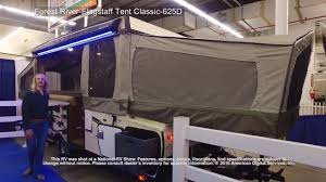 forest river flagstaff tent classic 625d youtube