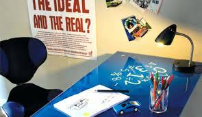 plateau de bureau en verre sérigraphié plateau bureau verre plateau bureau en plateau bureau verre blanc