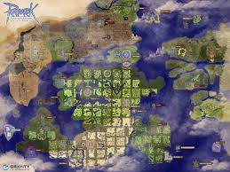 map world ro ragnarok world map my
