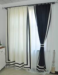 navy and white window curtains business for curtains decoration