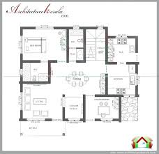 4 bed house plans three bedroom house plan single floor 4 bedroom house plans