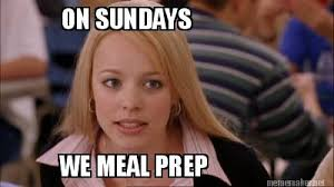 Meal Prep Meme - how to make the best out of your rest days