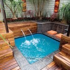 Swimming Pool Ideas For Small Backyards by It U0027s A Spa It U0027s A Pool It U0027s A