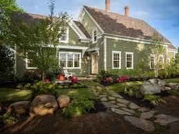 Home Front Yard Design Lawn U0026 Garden Attractive Green Lawn Front Yard With Green Grass