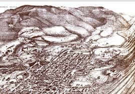 Aspen Colorado Map by Aspen Colorado In 1893 Bird U0027s Eye View Map Aerial Panorama