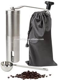 Manual Coffee Grinders Stainless Steel Manual Coffee Grinder With Ceramic Burr Hand