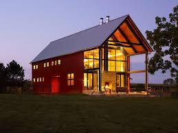 modern barn design barn design ideas exterior farmhouse with glass wall red house metal