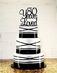 80th birthday cakes 80th birthday cake topper 80 years loved custom handmade