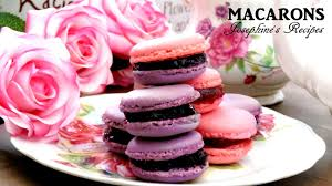 josephine u0027s recipes step by step how to make french macarons