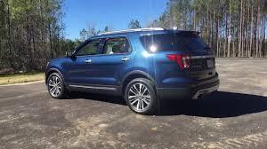 Ford Explorer Blue - hd walkaround 2017 ford explorer platinum exterior and
