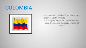 Bogota Flag Presentation Name