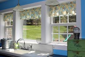 green kitchen curtains fascinating blue and green kitchen