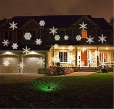 Light Flurries Snowflake Projector Review by Lucky Clover A Snowflake Projector Light Outdoor Waterproof Led