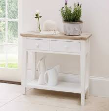 distressed white console table distressed white console table and florence kitchen hall trends