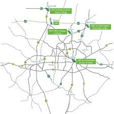 Arlington Tx Map Unt Locations University Of North Texas