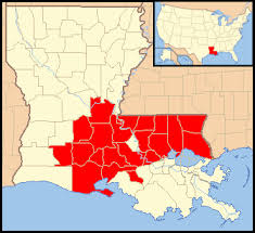 louisiana map areas louisiana floods