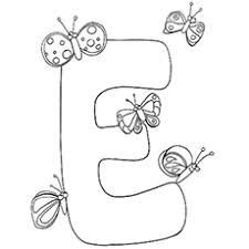 santa letter coloring page top 10 free printable letter e coloring pages online