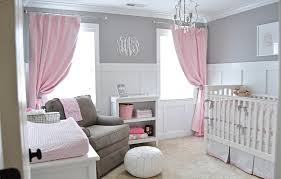 Nursery Curtain Tie Backs by Ava U0027s Sweet Gray And Pink Nursery Project Nursery