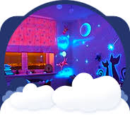 night light projector for kids night lights glow in the dark stars glow toys children s string