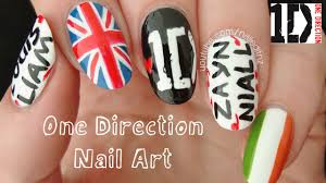 tutorial nail art one direction the best one direction nail art pic of styles and s trends the one
