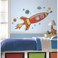 roommates 5 in x 19 in rocket peel and stick giant wall decal