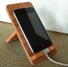 Cell Phone To Desk Phone Phone Dock Wooden Phone Stand Rustic Phone By Woodmetamorphosisuk