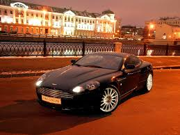 orange aston martin aston martin bids farewell to db9 with